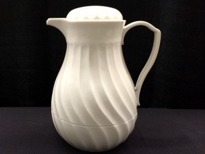 White Coffee Server $3.12
