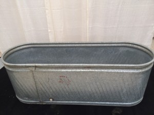 Large Galvanized Ice Tub $24.00