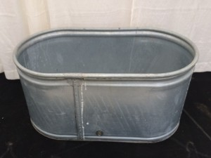 Small Galvanized Ice Tub $18.00