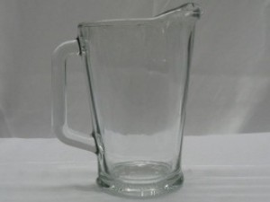 Glass Water Pitcher $3.12ea