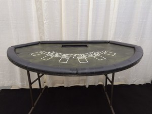 Stand up Black jack table $42.00