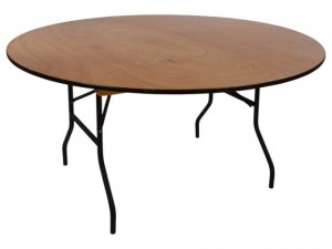"60"" Round Table $10.80ea"