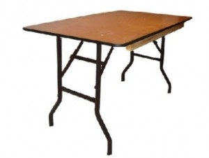 "6'x30"" Rectangular Table $10.80ea"