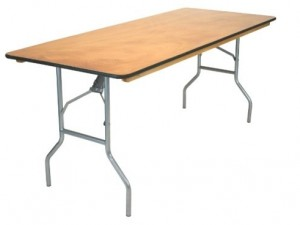 "8'x30"" Rectangular Table $10.80ea"