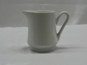 Creamer -White China $1.50ea