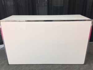 White Plexiglass Bar - $180.00ea